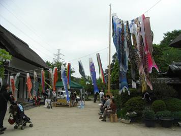 横溝屋敷こどもまつりに今年も参加しました(2011年5月5日)