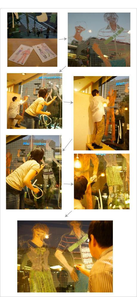 めぐり・ウインドー・ギャラリー第12弾は手芸作家・佐野純子さんの『Lovegurumi(ラブぐるみ)』(2011年10月12日〜11月6日)