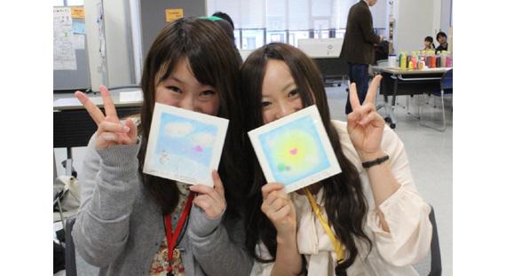 「エコ育広場2012」(札幌)にNPO法人ヒーリング北海道様がおえかきチョークで環境教育を伝えるチョーク絵画体験コーナーで出展しました(2012年2月11日)