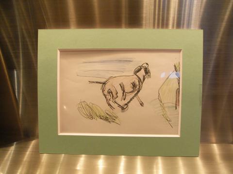 岩重慶一さんの絵本作品展「犬の飛夢君の物語」開催(2012年2月18日〜4月)