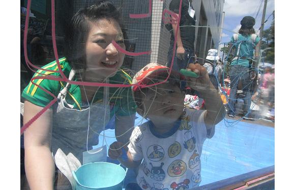 おおた子育てわいわいフェスタ2012にキットパスで参加しました(2012年6月10日)