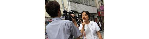カラフルラブのアーティスト集団が中野区薬師あいロード商店街でウインドウ・アート♪(2012年9月30日)