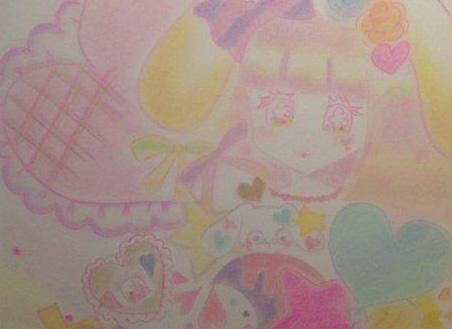 松下唯さん初の個展『うさぎの国へようこそ』@阿佐ヶ谷アニメストリート内「GREEN GALLERY」にキットパスで協力しました(2014年7月21日〜8月20日)