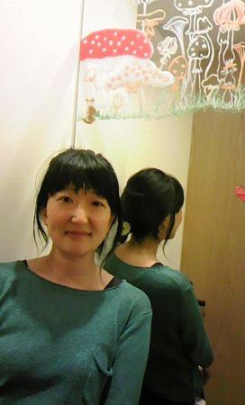 めぐたまキットパスミラーギャラリーVol.3 鈴野麻衣さんの「にじをこえて」(2014年10月14日〜)