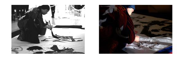 かわさきわくわくフェスタにキットパスおえかきで参加しました♪(2014年12月6日)