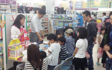 トイザらスとしまえん店のワークショップにご参加いただきありがとうございました。