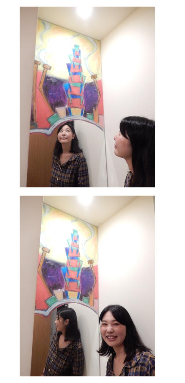 めぐたまキットパスミラーギャラリーVol.13 武永リヨさんの「つきよのはなし」(2016年9月20日〜)