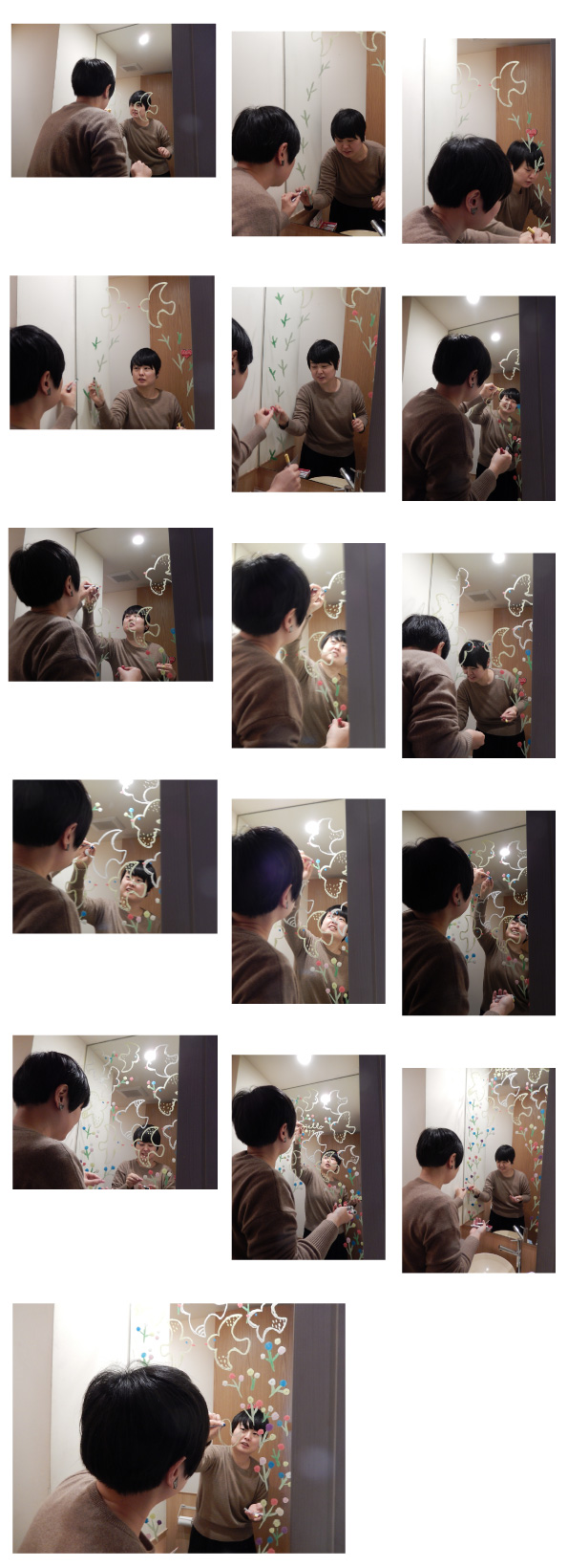 めぐたまキットパスミラーギャラリーVol.14 Yuzukoさんの「いろとりどり」(2017年1月5日〜)