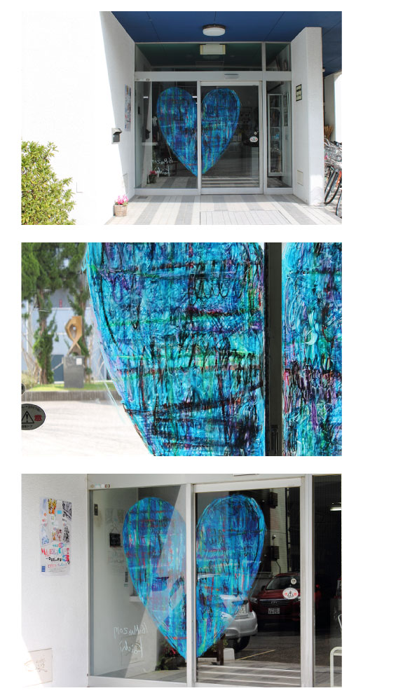 川崎工場ウインドーギャラリー第11弾 西村公一さんの「みんなの家」(2017年3月16日〜8月4日)