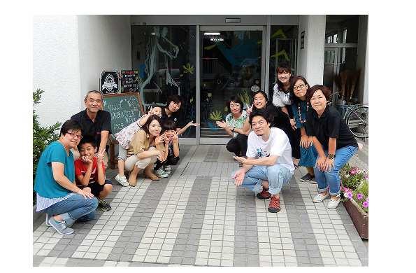 サイトウマサミツさんの日本理化学工業(株)川崎工場ウインドーギャラリー第12弾「ここにいるよ」(2017年8月5日)