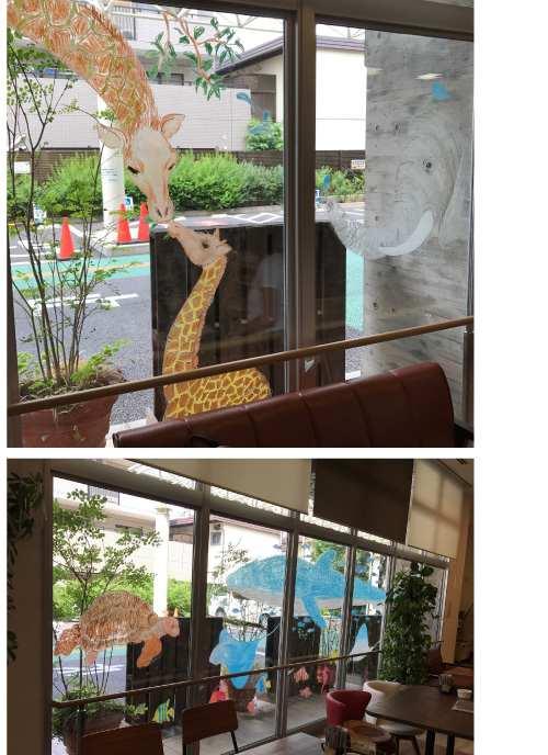 川崎工場ウインドーギャラリー第14弾 鈴木信子さんの「あわてんぼうの春」(2018年1月31日〜3月31日)