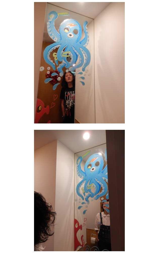 めぐたまキットパスミラーギャラリーVol.20 柳太郎さんの「タコシャン」(2018年4月23日〜)