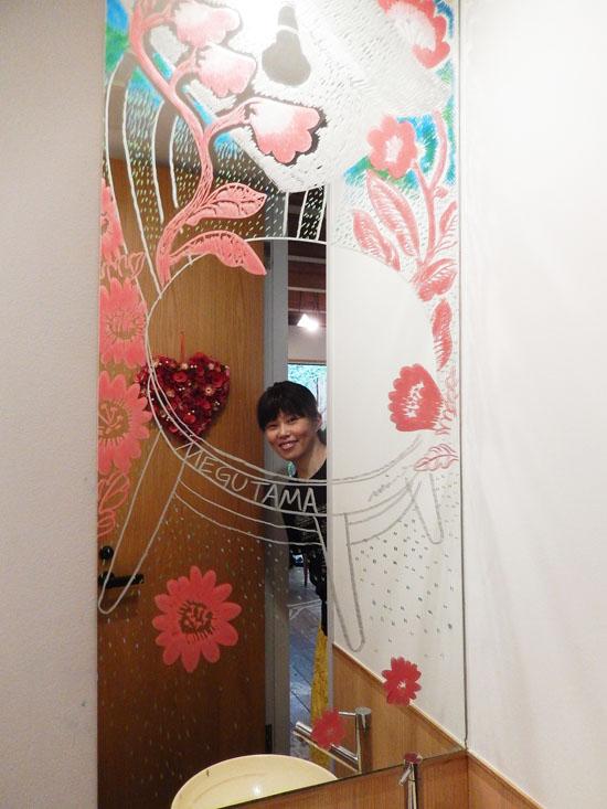 めぐたまキットパスミラーギャラリーVol.25 鹿子木美さんの「MEGUTAMA GARDEN」(2019年7月22日〜)
