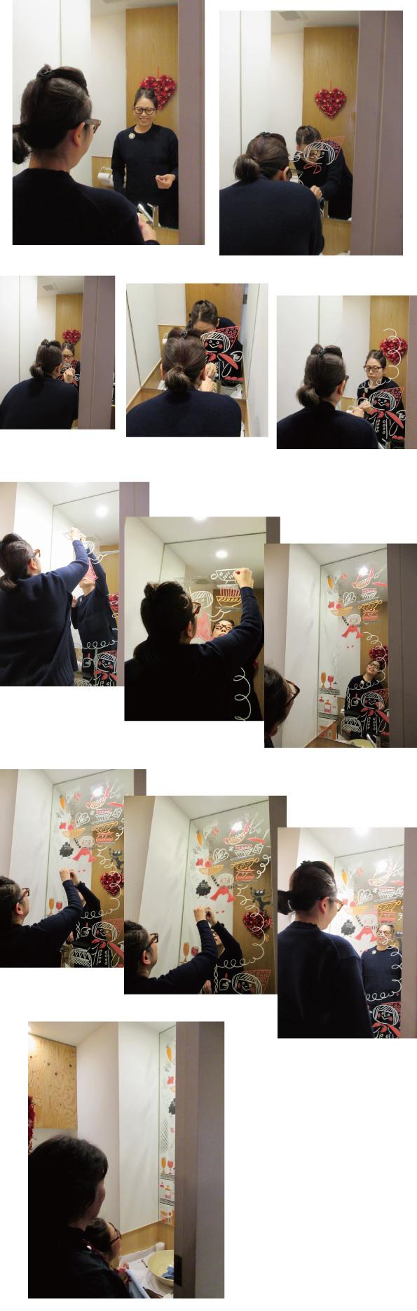 めぐたまキットパスミラーギャラリーVol.27 青山京子さんの「めぐたまキッチン」(2020年2月3日-)
