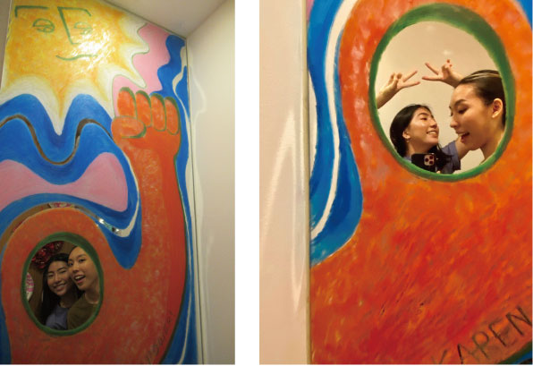 めぐたまキットパスミラーギャラリーVol.28 WAKA & KAREN TAKAHASHI姉妹さんの「太陽とニョロニョロとグー」(Unleash Your Power!!)(2020年6月1日−)